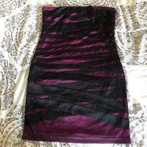 Strapless mini dress from Forever 21 plus